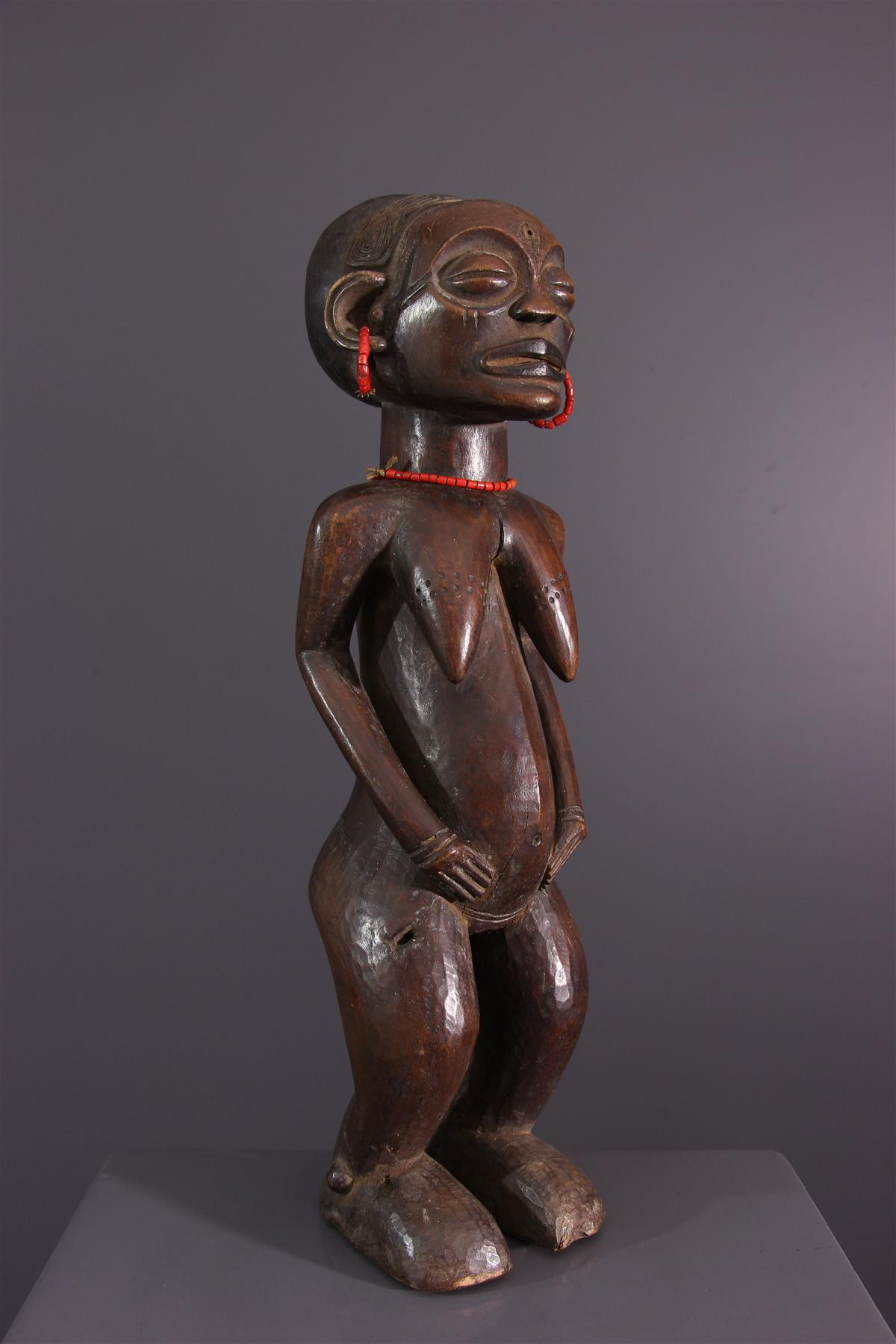 Statue Chokwe - Art tribal