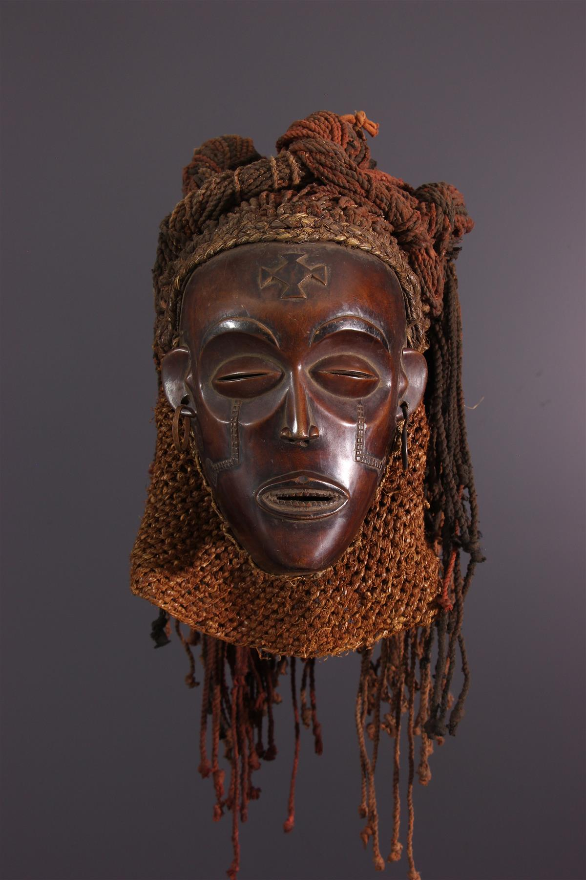 Masque Tschokwe - Art tribal