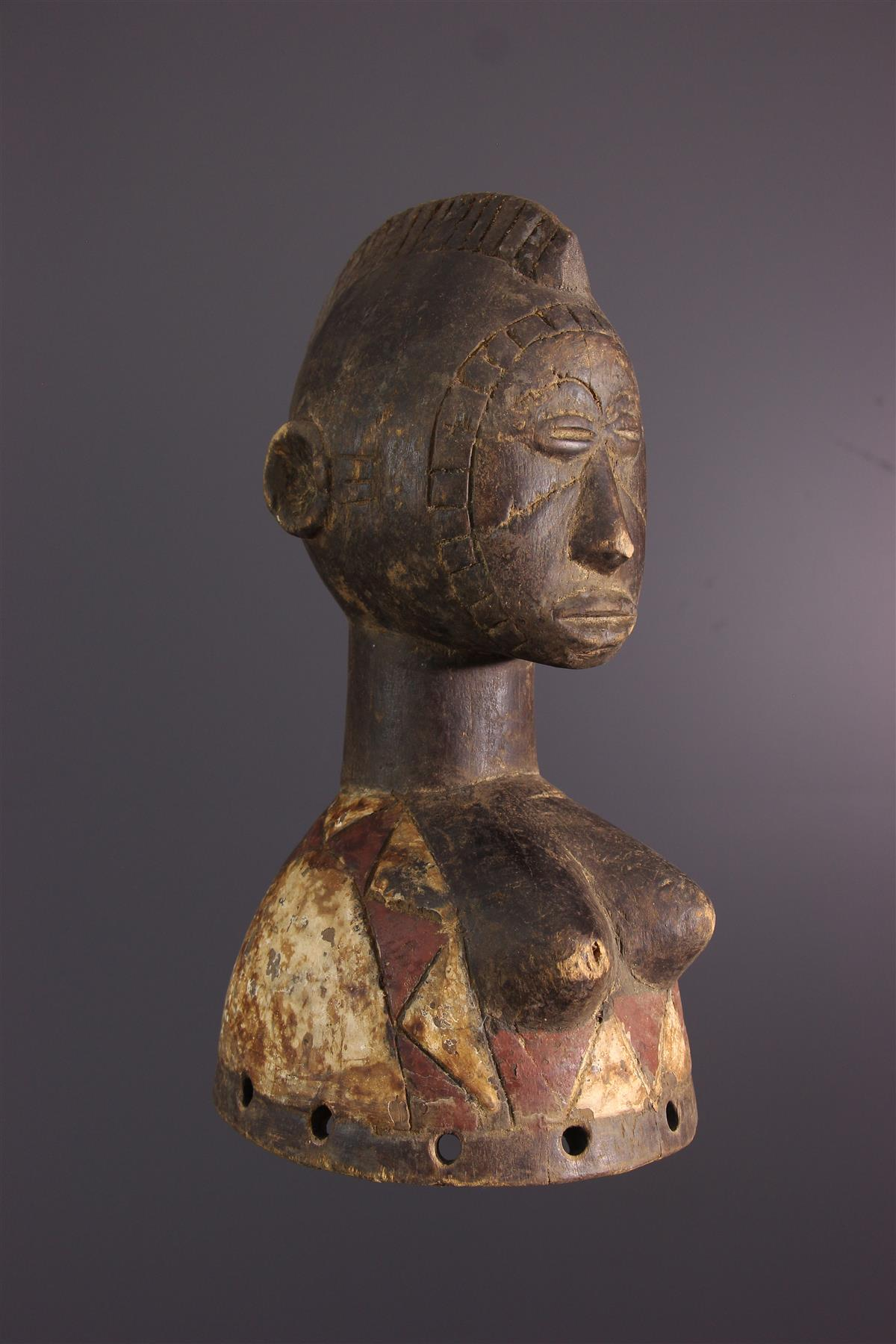Masque Mossi - Art tribal
