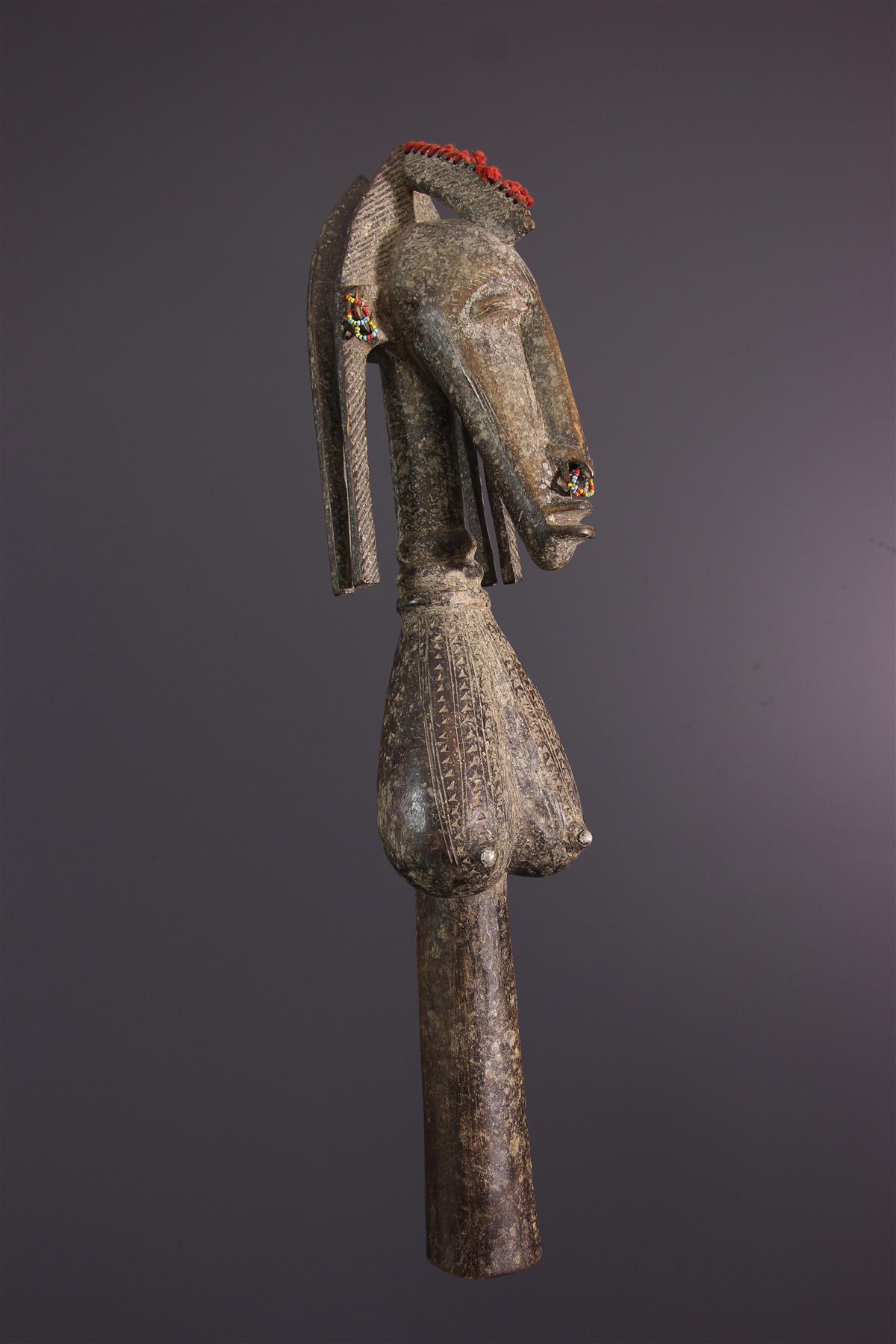 Marionnette Markha - Art tribal