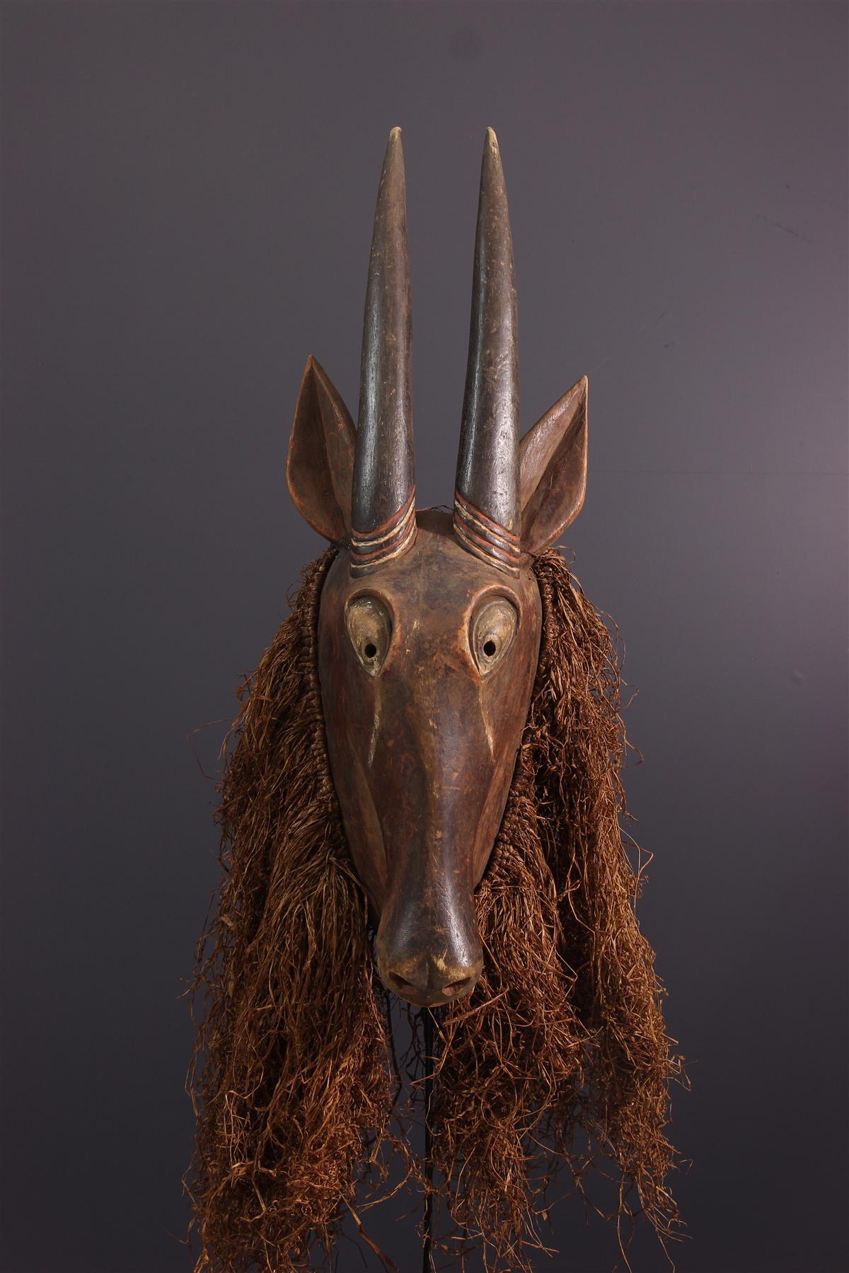 Masque Yaka - Art tribal