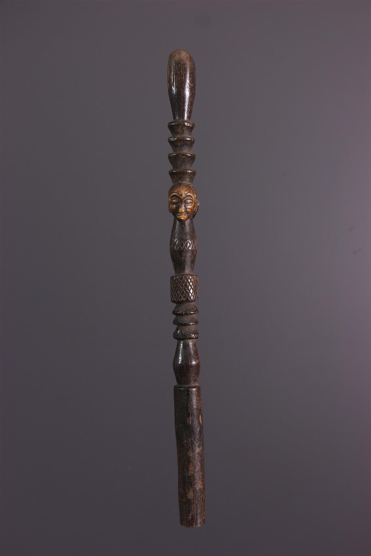 Bâton Hemba - Art tribal