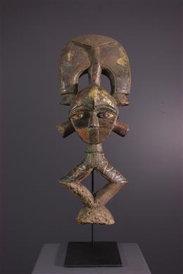 Art tribal - Figure de reliquaire Kota du Bweete