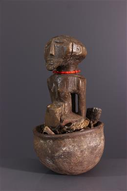 Art tribal - Statuette rituelle  Songye  Boanga