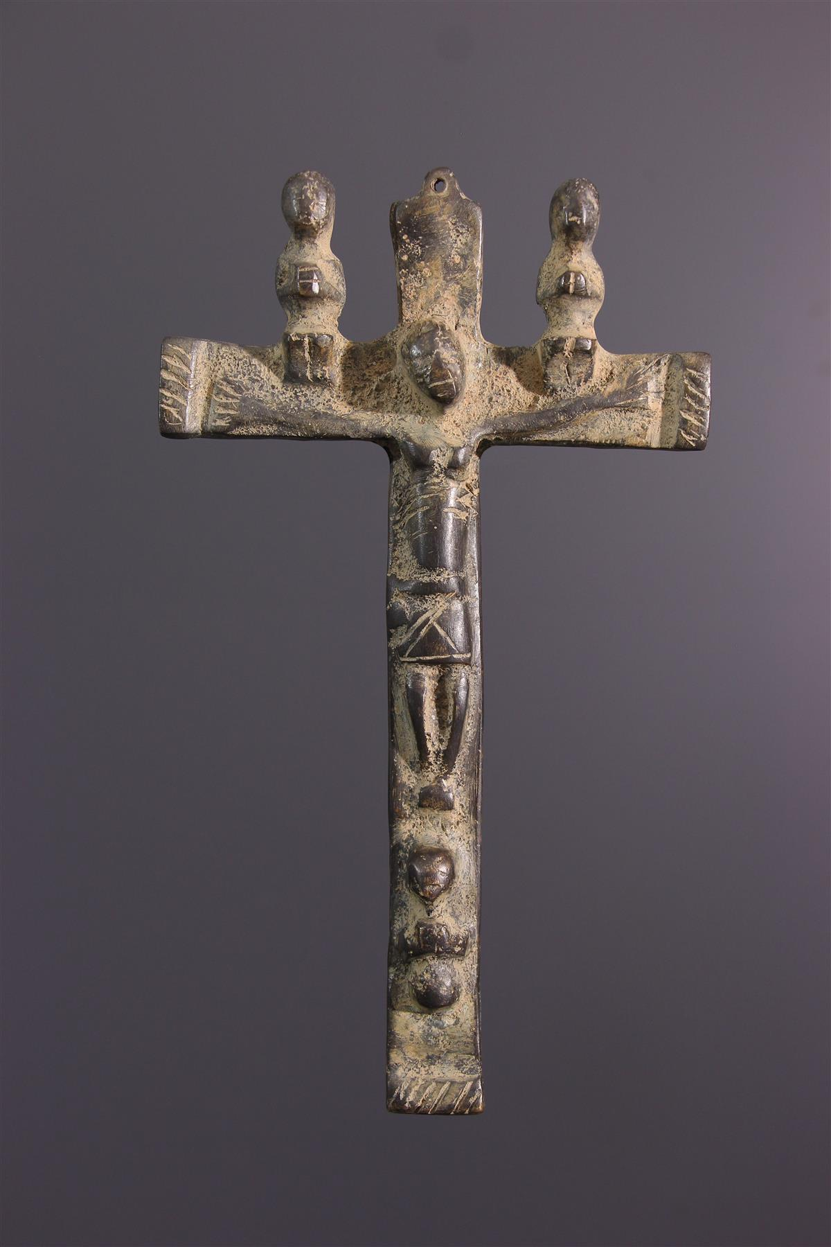 Crucifix Kongo - Art tribal
