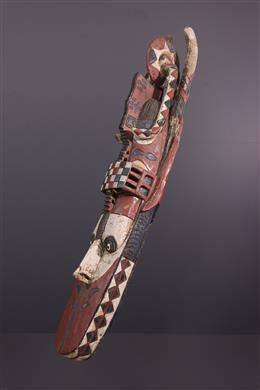 Art tribal - Grand masque Banda Baga