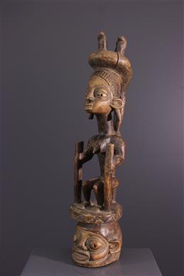 Art tribal - Masque-autel Gelede Yoruba