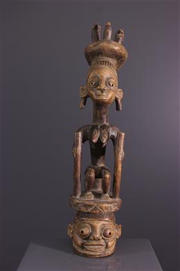Masque-autel Gelede Yoruba