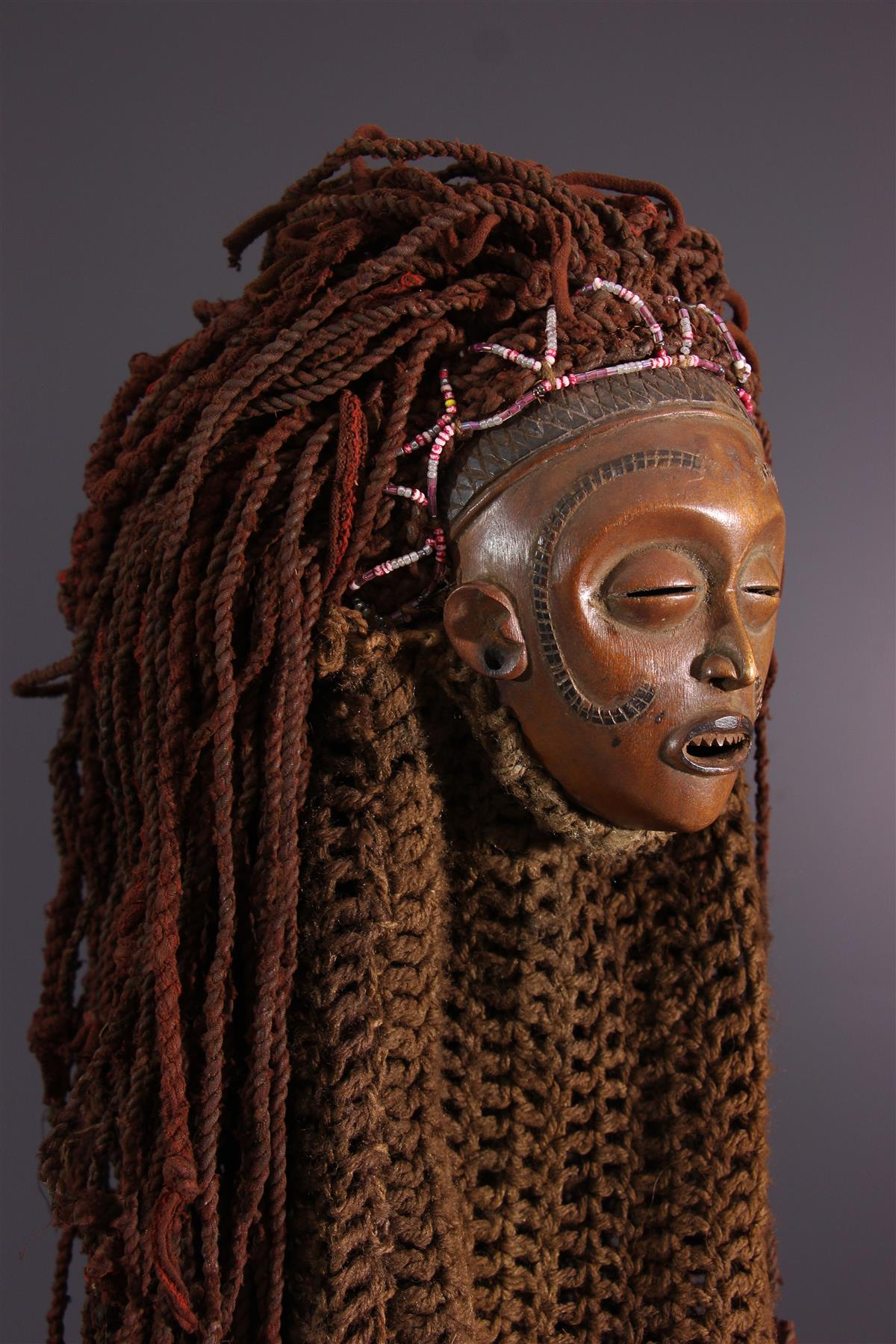 Masque Tschokwe - Art tribal
