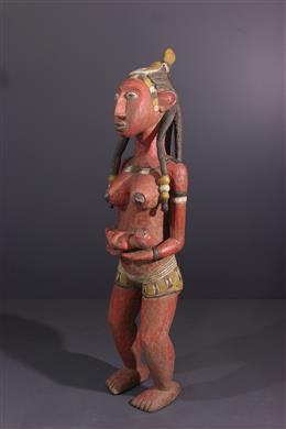 Figure de maternité Baga polychrome
