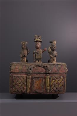 Coffre Yoruba - Art tribal