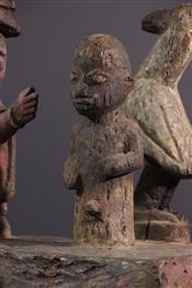 Pots, jarres, callebasses, urnesCoffre Yoruba