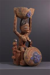 Pots, jarres, callebasses, urnesStatue Yoruba