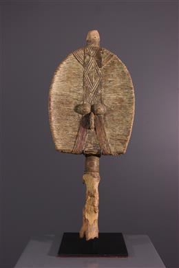 Art tribal - Figure de reliquaire Mahongwe biface