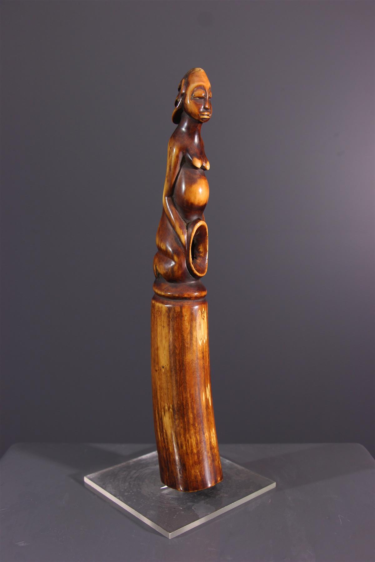 Oliphant Luba - Art tribal