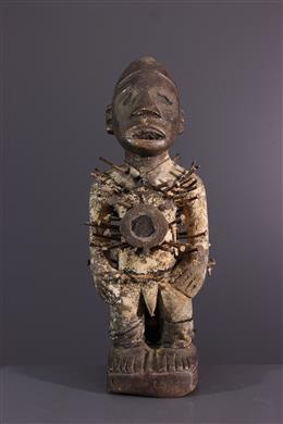 Art tribal - Fétiche Nkisi Nkondi Solongo Kongo