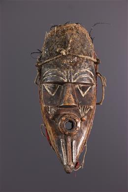 Art tribal - Masque Geh Naw Bassa Libéria