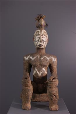 Art tribal - Figure de sanctuaire Igbo Alusi