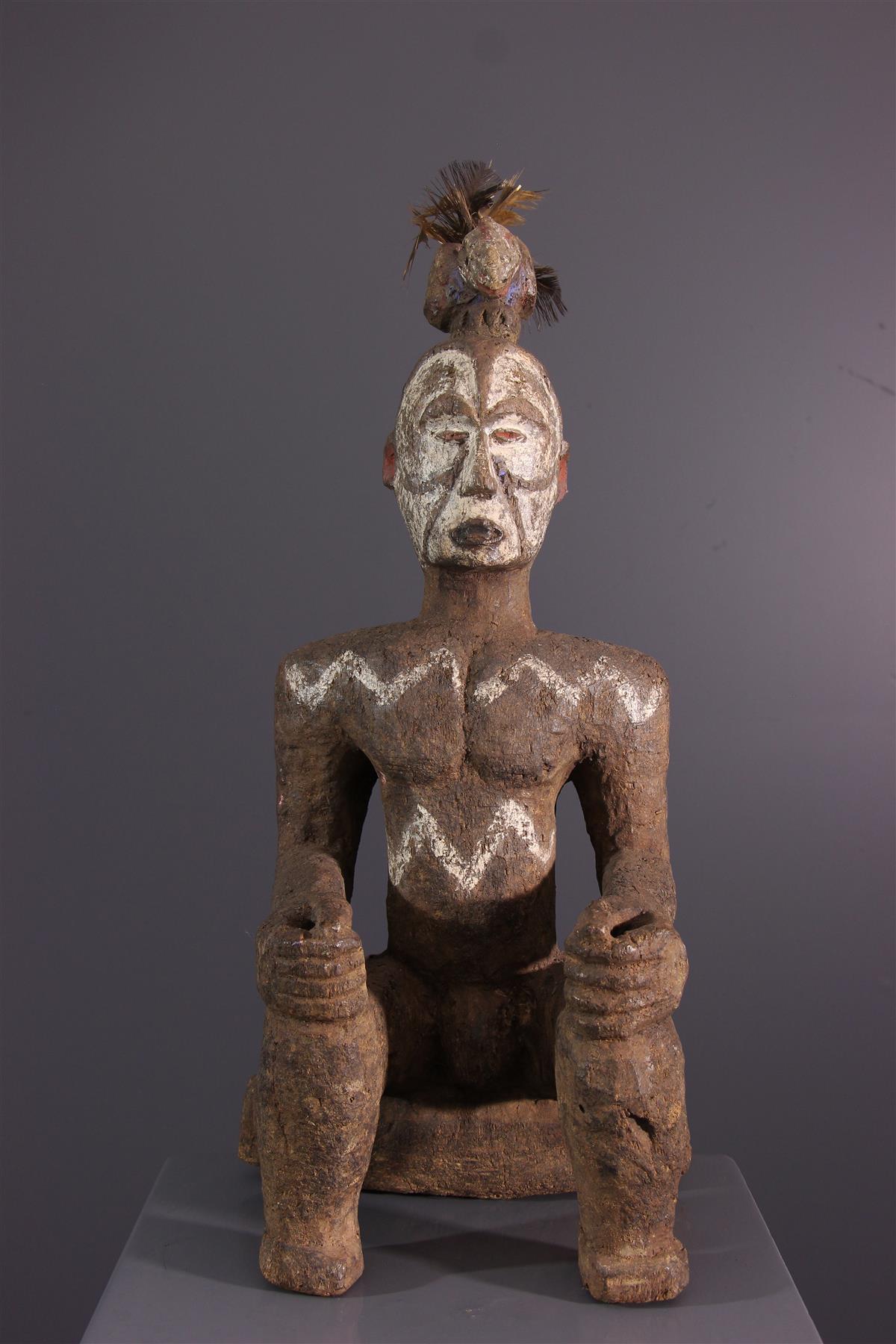 Statue Alusi - Art tribal