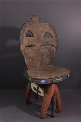 Siège sculpté Baga