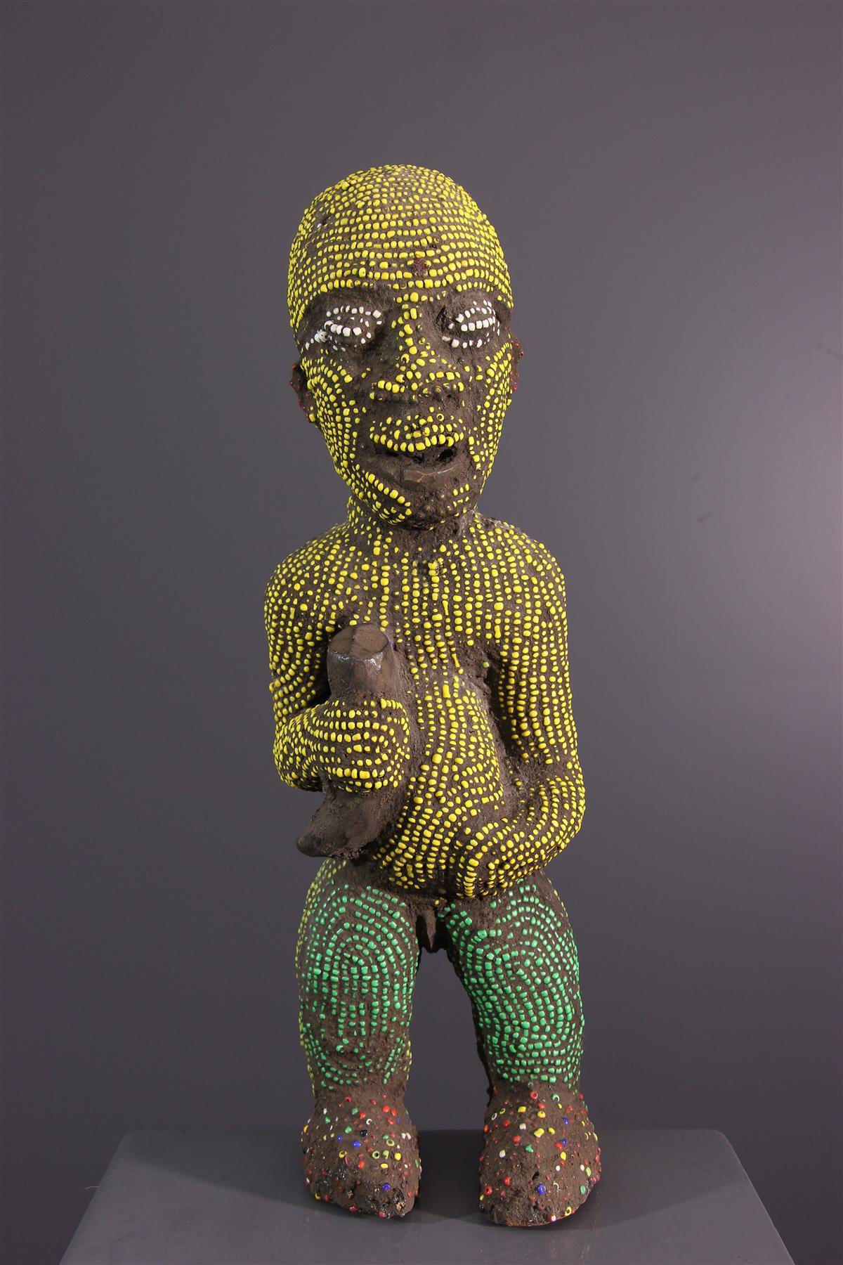 Statue Bamileke - Art tribal