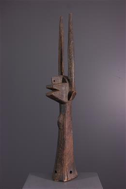 Art tribal - Cimier vertical Ci Wara des Bamana