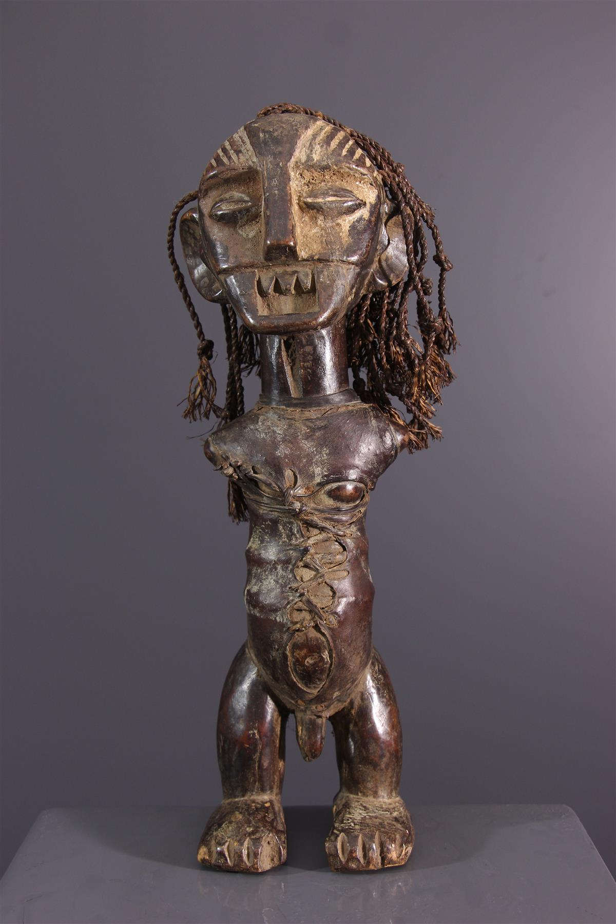 Statuette Metoko - Art tribal