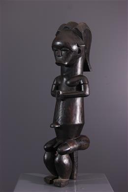 Figure de reliquaire Fang Mvaï du Byeri