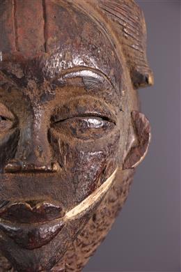 Art tribal - Masque noir Punu Ikwara