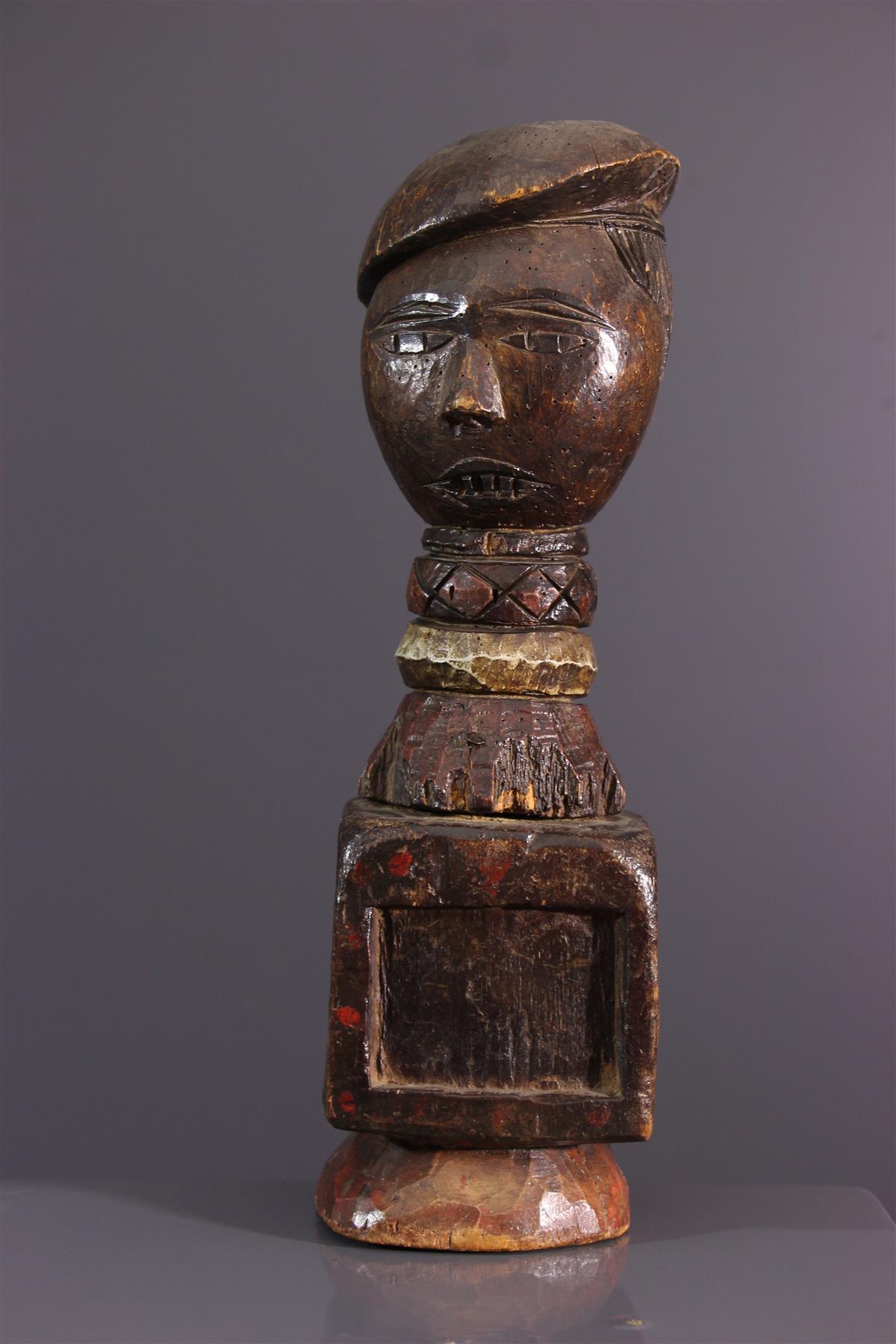 Marionnette Mbochi - Art tribal