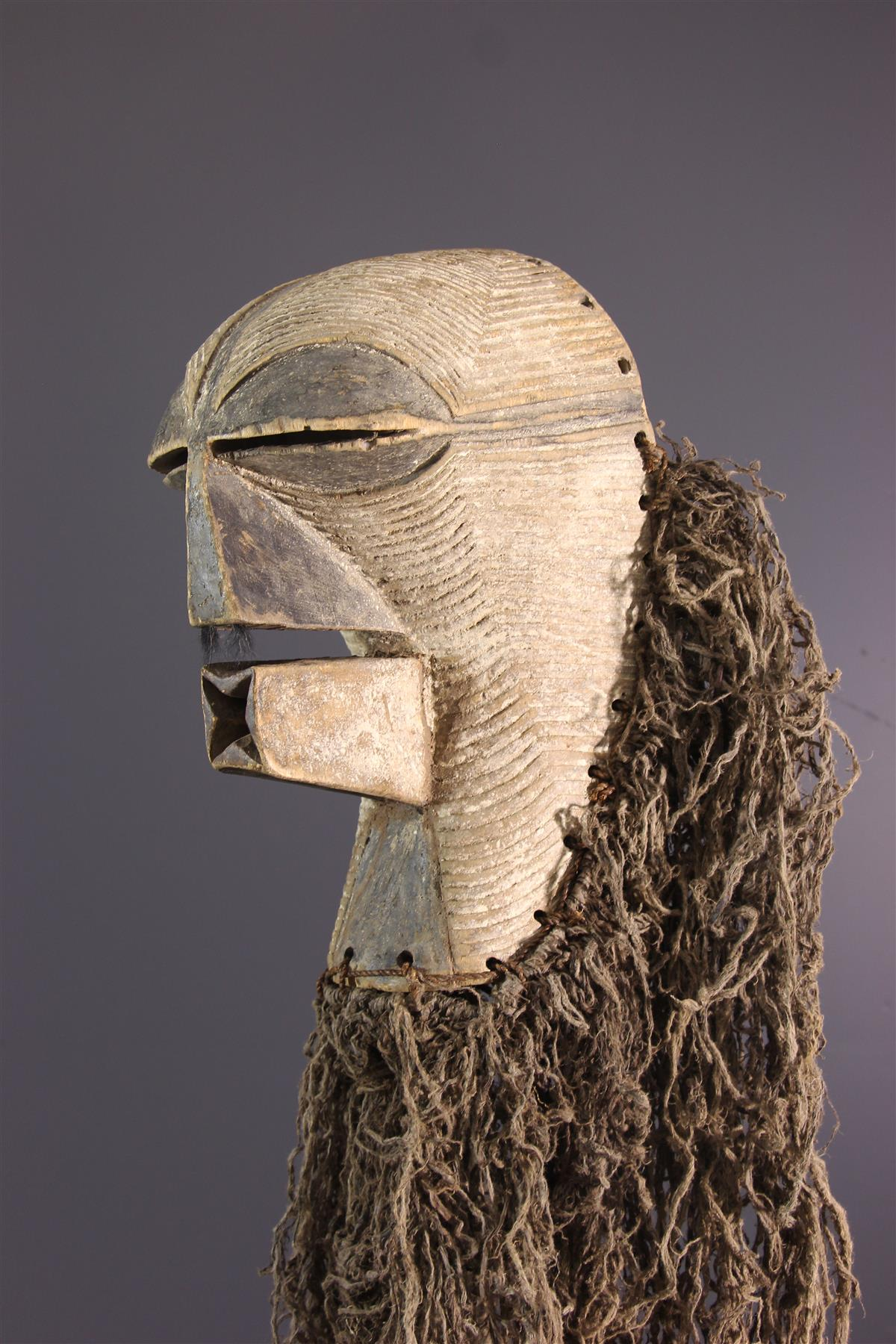 Masque Kifwebe - Art tribal