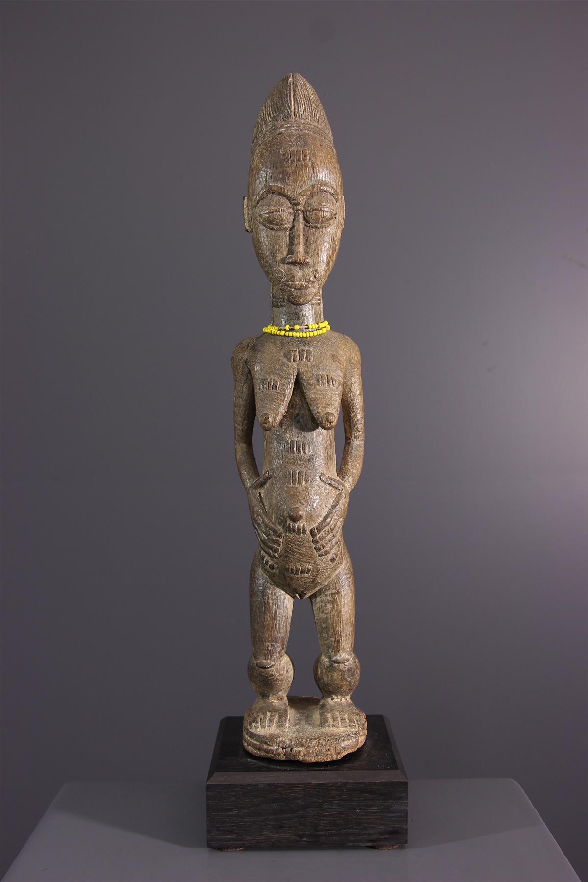 Statue Baoule - Art tribal