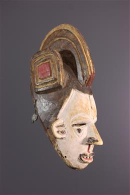 Masque de danse Igbo Agbogo Mmuo