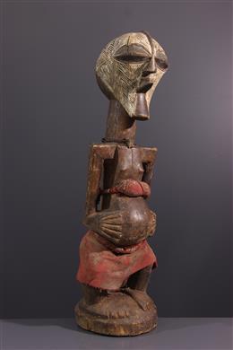 Art tribal - Grande Statue fétiche Songye Nkisi