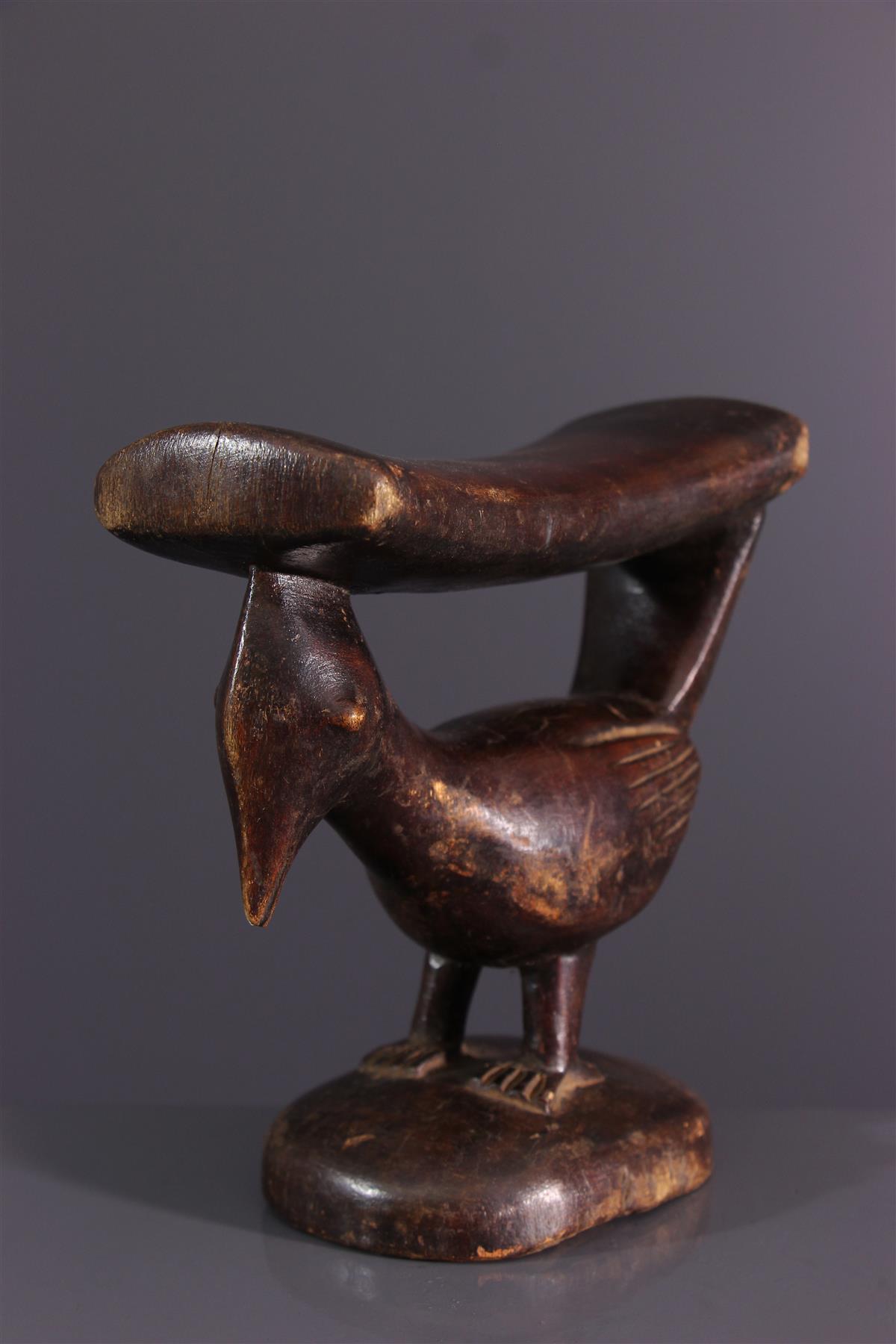 Appuie-nuque - Art tribal