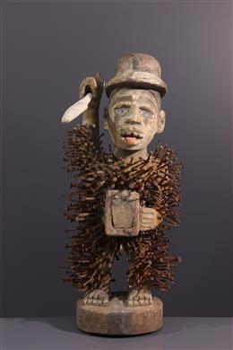 Statue fétiche Solongo Kongo