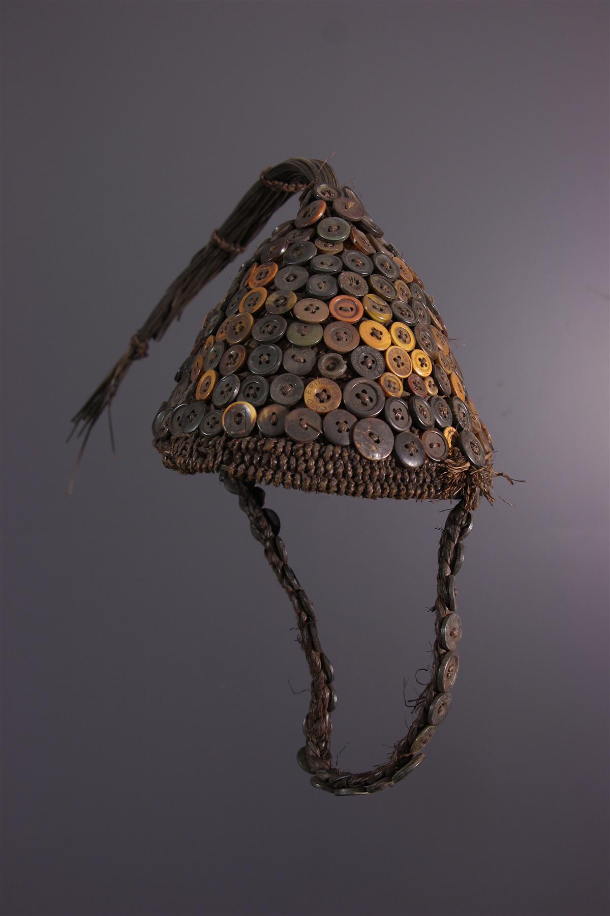 Coiffe Mukaba - Art tribal