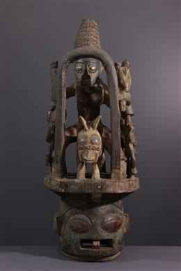Art tribal - Masque Epa Ekiti Yoruba
