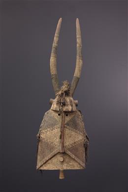 Art tribal - Grand masque Bobo Molo
