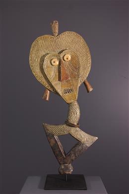 Art tribal - Figure de reliquaire Kota du Bwété