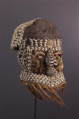Art tribal - Masque Mwaash aMbooy mu shall Bushoong