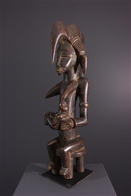 Art tribal - Statue de maternité Senoufo Tugubele