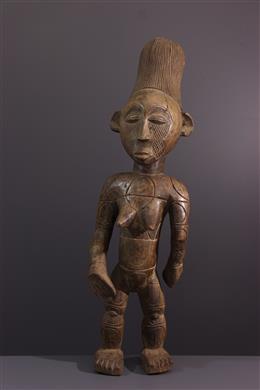 Art tribal - Figure féminine Mangbetu Nebeli