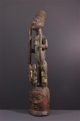 Art tribal - Masque Epa Ekiti Yoruba