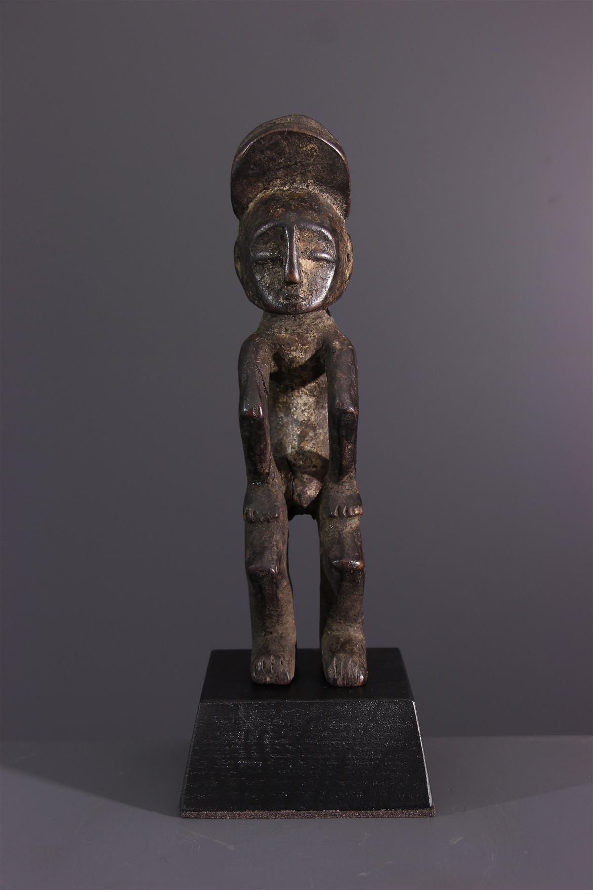 Statuette Mbole - Art tribal