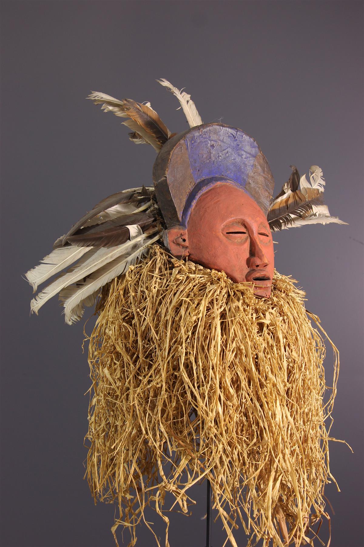 Masque Zombo - Art tribal