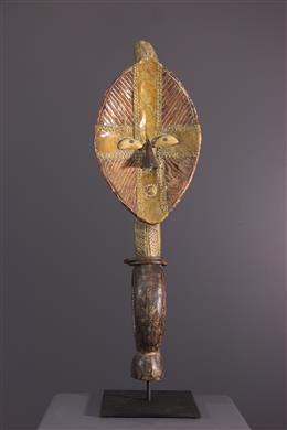Art tribal - Figure de reliquaire Kota du Bwété Mbulu viti
