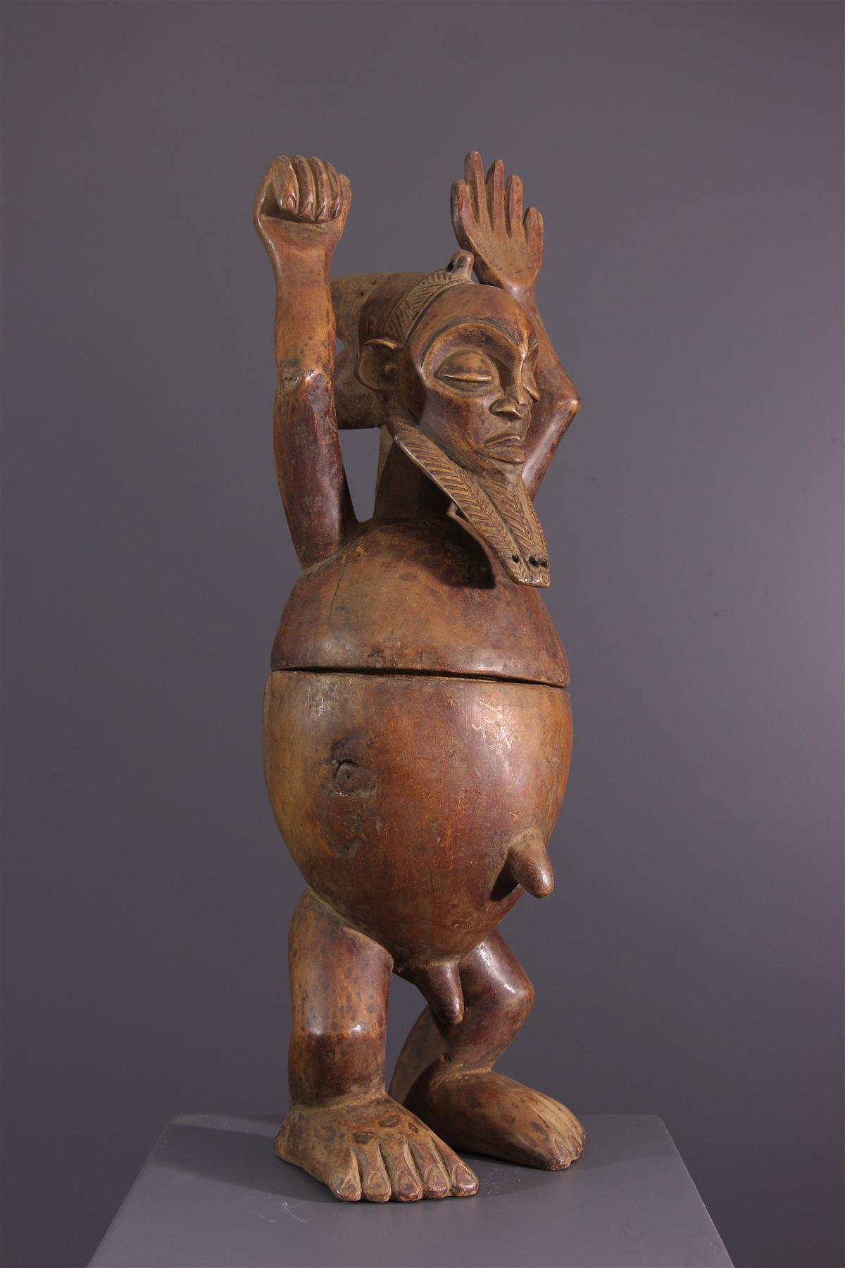 Boîte Hemba - Art tribal