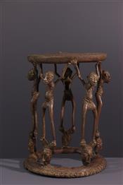 Tabourets, chaises, trônesTabouret Tikar
