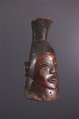 Masque cimier Mangbetu